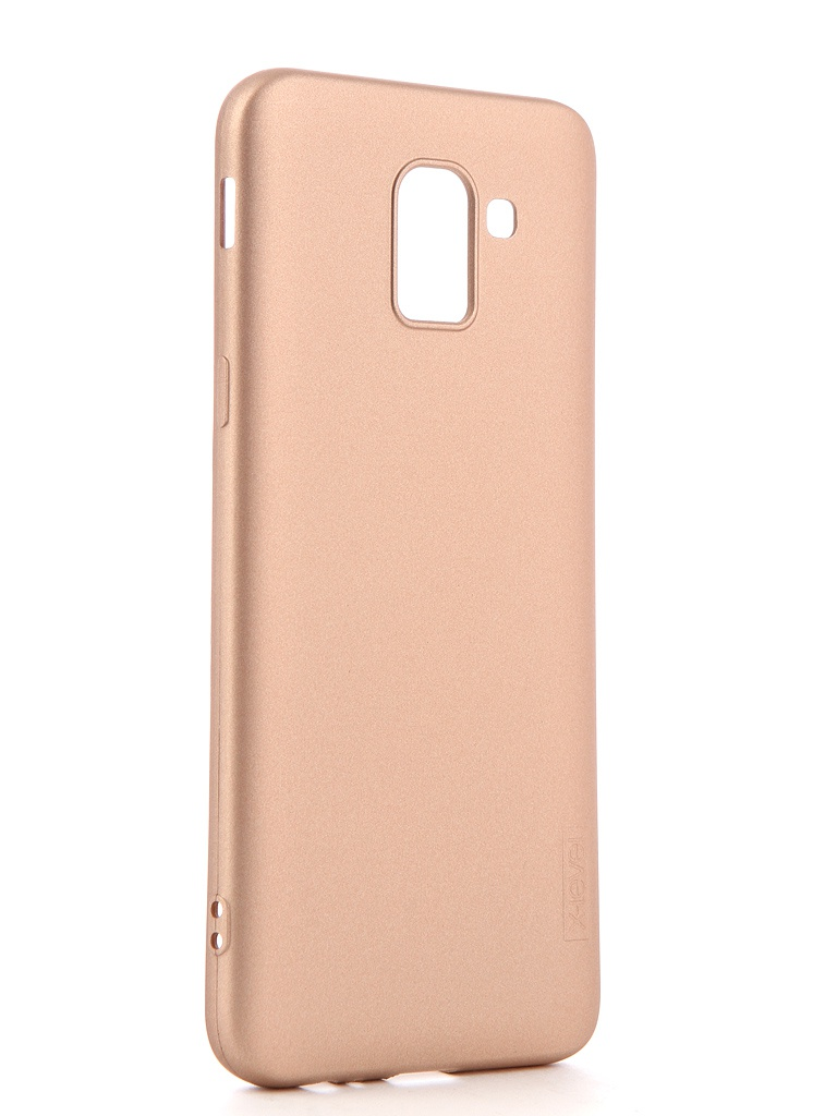 Чехол X-Level Guardian для Samsung Galaxy J6 2018 Gold 2828-159