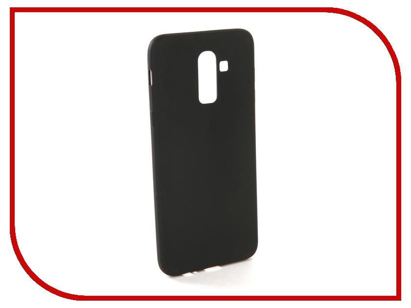 Аксессуар Чехол для Samsung J8 2018 J810F Zibelino Soft Matte Black ZSM-SAM-J810F-BLK аксессуар защитное стекло для samsung galaxy j8 2018 j810f zibelino full screen black