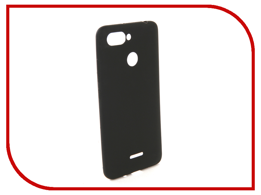 Аксессуар Чехол для Xiaomi Redmi 6 Zibelino Soft Matte Black ZSM-XIA-6-BLK аксессуар чехол xiaomi redmi 5 plus zibelino soft matte turquoise zsm xia 5pl tqs
