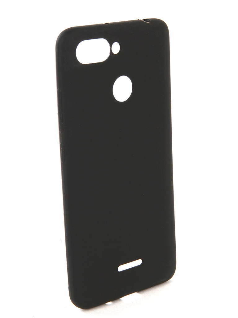 Аксессуар Чехол Zibelino для Xiaomi Redmi 6 Soft Matte Black ZSM-XIA-6-BLK