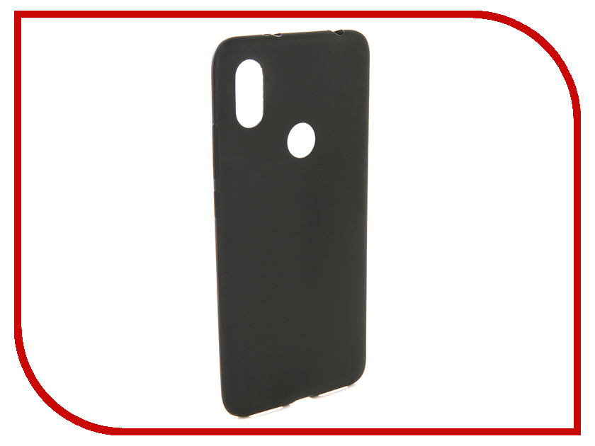 Аксессуар Чехол для Xiaomi Redmi S2 Zibelino Soft Matte Black ZSM-XIA-S2-BLK