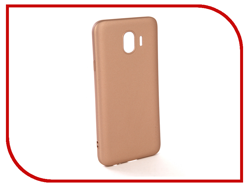 Аксессуар Чехол для Samsung Galaxy J4 2018 X-Level Guardian Gold 2828-157 цена
