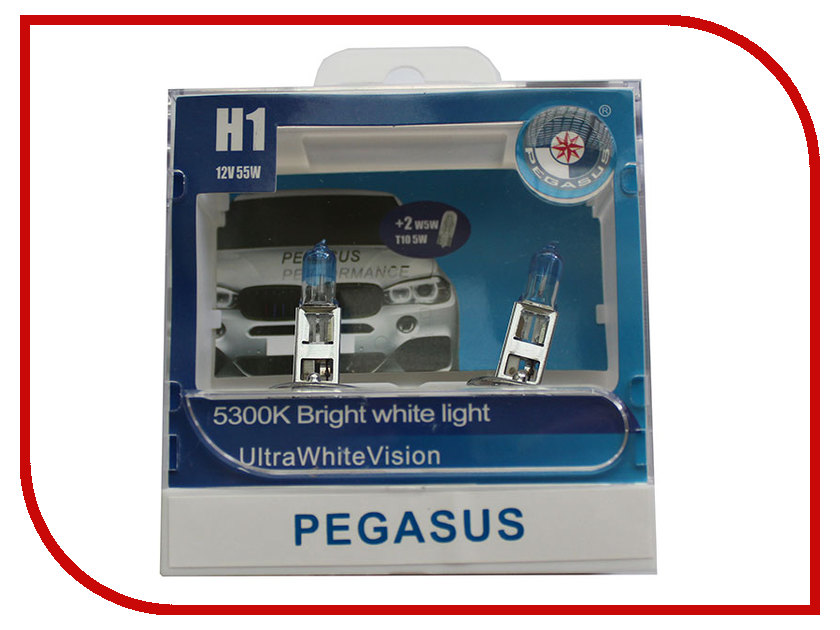 Лампа Pegasus H1 + габариты T10 12V 55W (4 штуки) saint seiya original bandai tamashii nations d d panoramation ddp action figure pegasus seiya pegasus meteor punches