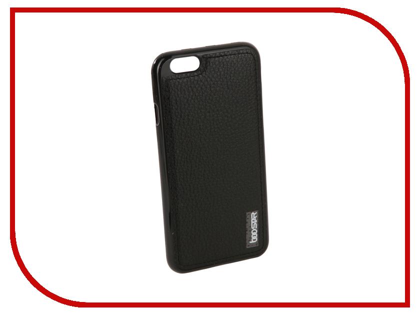 Аксессуар Чехол + защитное стекло Innovation Boostar для APPLE iPhone 6/6S Black 11753 аксессуар защитное стекло monsterskin 3d pc glass для apple iphone 6 plus black