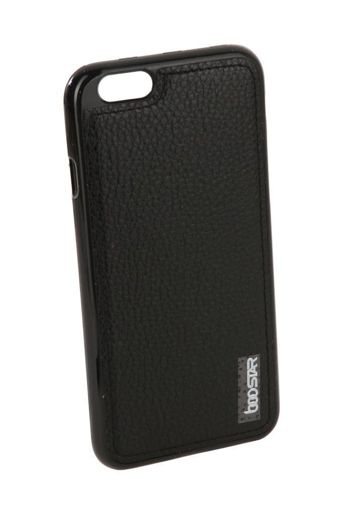 Аксессуар Чехол + защитное стекло Innovation для APPLE iPhone 6 / 6S Boostar Black 11753