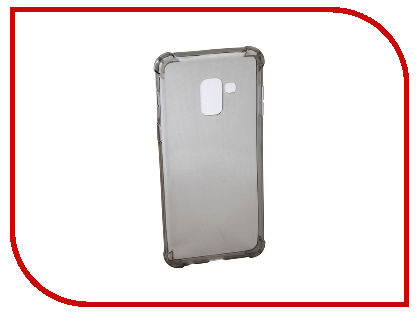 Аксессуар Чехол для Samsung Galaxy A5 2018 Innovation Silicone Black 12208 аксессуар чехол для samsung galaxy a5 2017 onext silicone transparent 70513