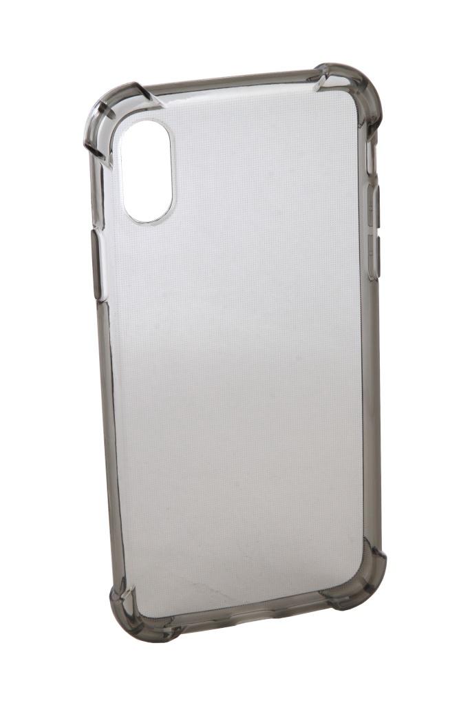 Аксессуар Чехол Innovation для APPLE iPhone X Silicone Black 12214 аксессуар чехол innovation ferrari для apple iphone x black