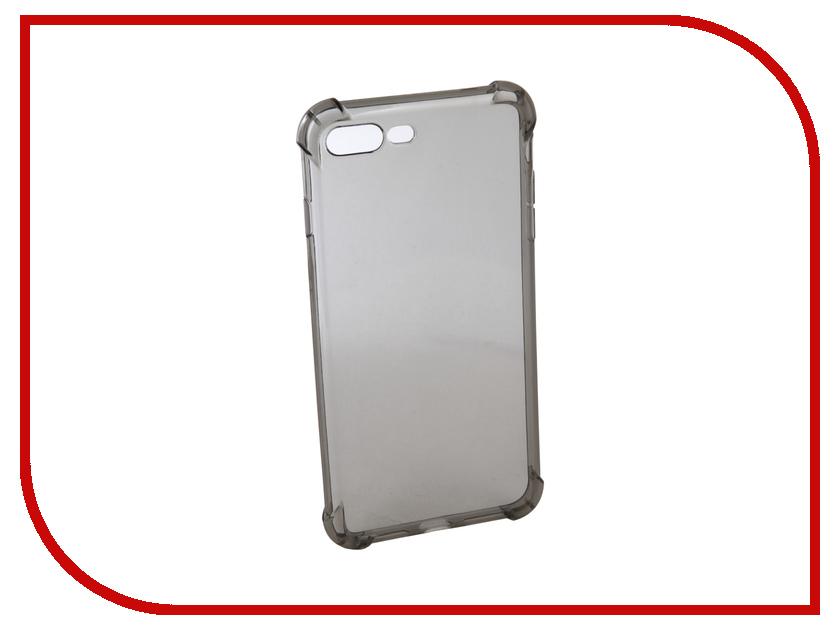 Аксессуар Чехол Innovation Silicone для APPLE iPhone 7 Plus Black 12224 аксессуар чехол innovation boostar для apple iphone 7 plus 8 plus black 11435