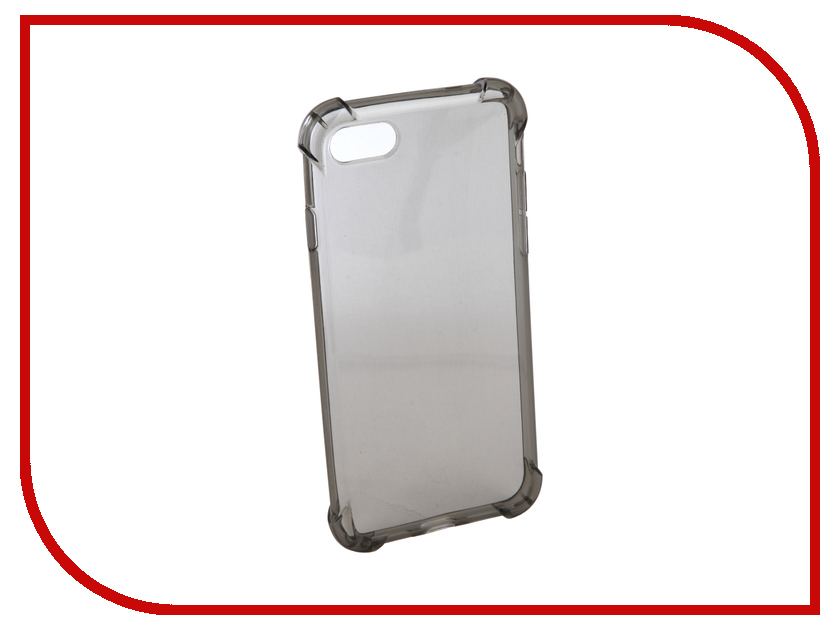 Аксессуар Чехол Innovation Silicone для APPLE iPhone 7 Black 12223 аксессуар чехол innovation jeans для apple iphone 7 8 white 10774