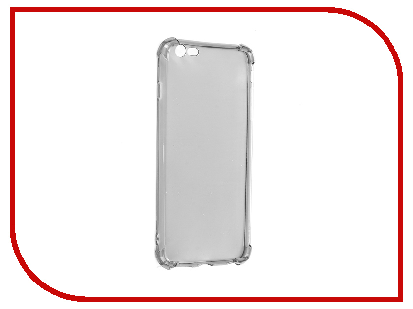 Аксессуар Чехол Innovation Silicone для APPLE iPhone 6 Plus Black 12222 стоимость
