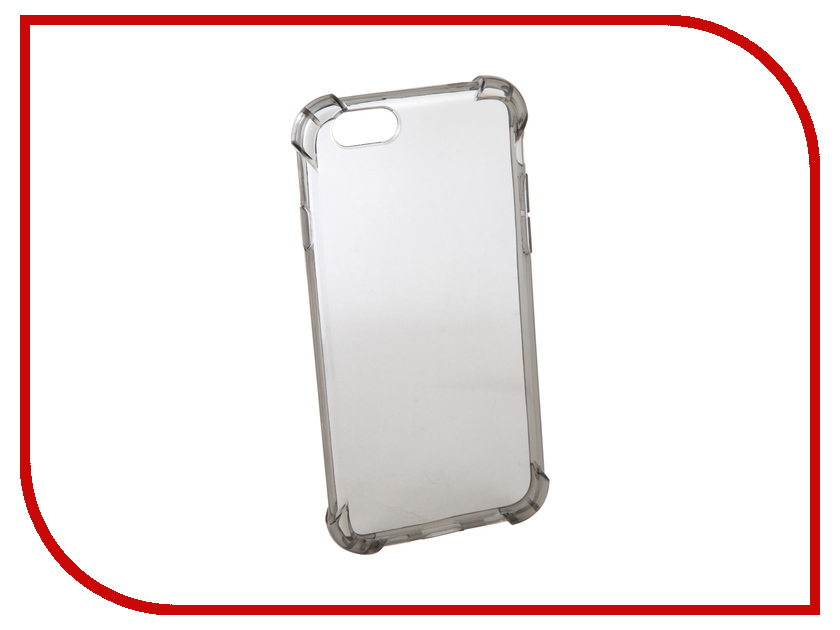Аксессуар Чехол Innovation Silicone для APPLE iPhone 6 Black 12221 gumai silky case for iphone 6 6s black