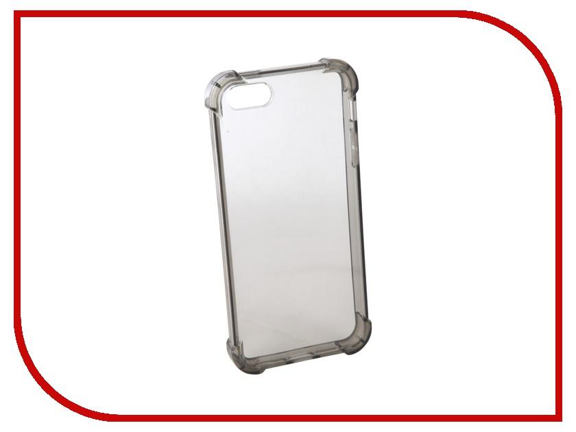 Аксессуар Чехол для APPLE iPhone 5 Innovation Silicone Black 12220 аксессуар чехол innovation ракушка silicone для apple iphone 5g 5s 5se black 11033
