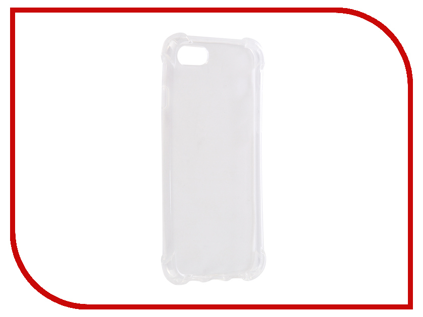 Аксессуар Чехол для APPLE iPhone 7 Innovation Silicone Transparent 12218 аксессуар чехол для apple iphone 6 innovation silicone transparent 12216