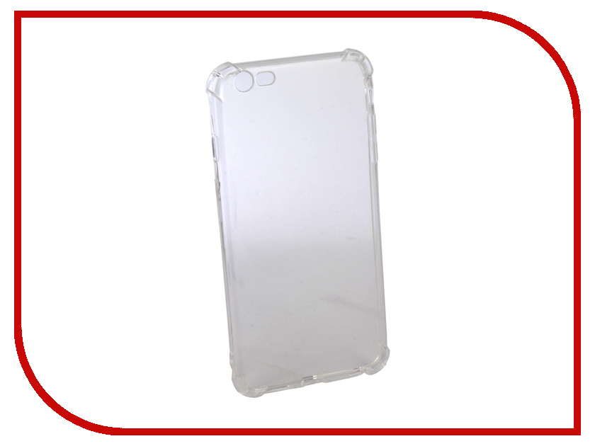 Аксессуар Чехол Innovation Silicone для APPLE iPhone 6 Plus Transparent 12217