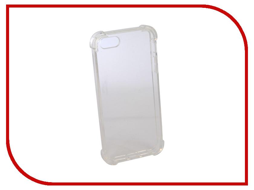Аксессуар Чехол для APPLE iPhone 5 Innovation Silicone Transparent 12215 аксессуар чехол для apple iphone 6 innovation silicone transparent 12216