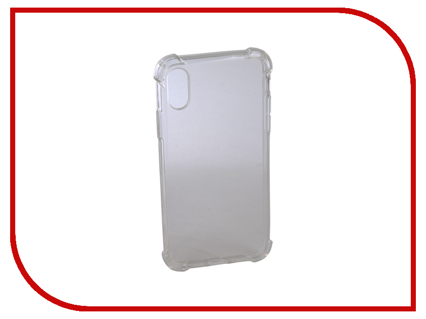 Аксессуар Чехол Innovation Silicone для APPLE iPhone X White 12213 цена