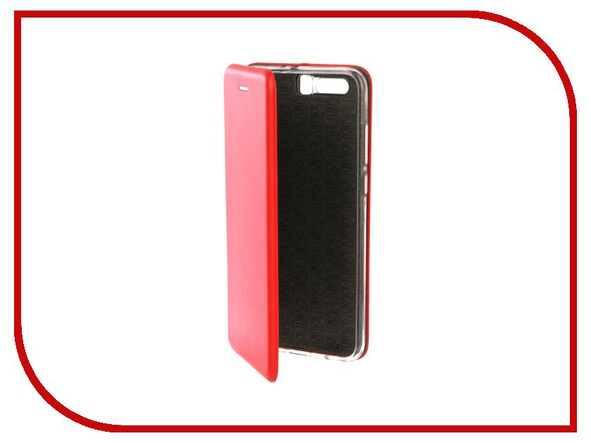 Аксессуар Чехол для Huawei Honor 8 Innovation Book Silicone Red 12170 аксессуар чехол для samsung galaxy a5 2017 innovation book silicone red 12147