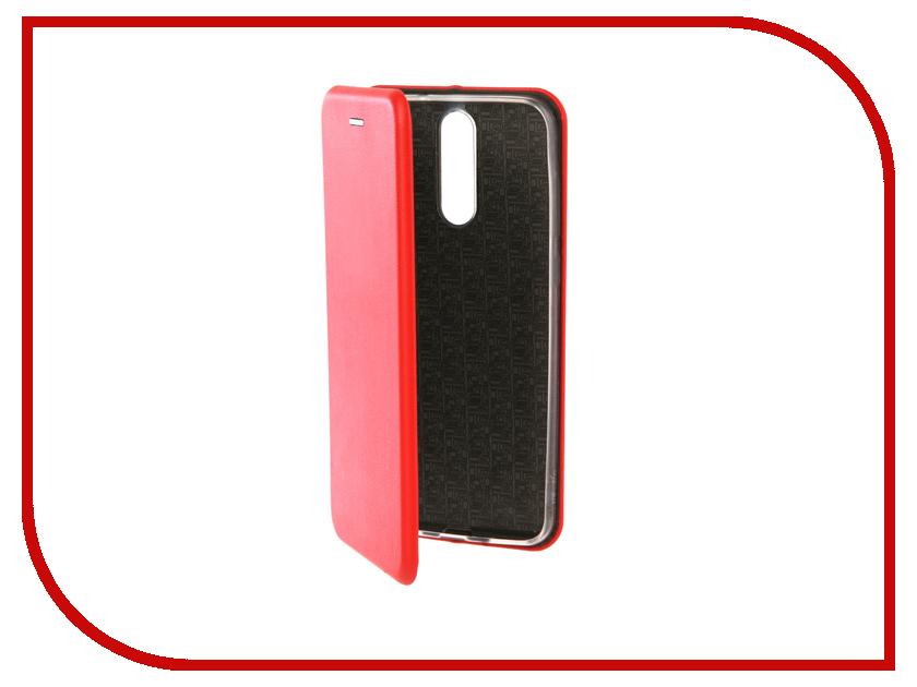 Аксессуар Чехол-книга для Huawei Honor 9 Innovation Book Silicone Red 12171 аксессуар чехол книга для huawei p9 lite innovation book silicone black 11509