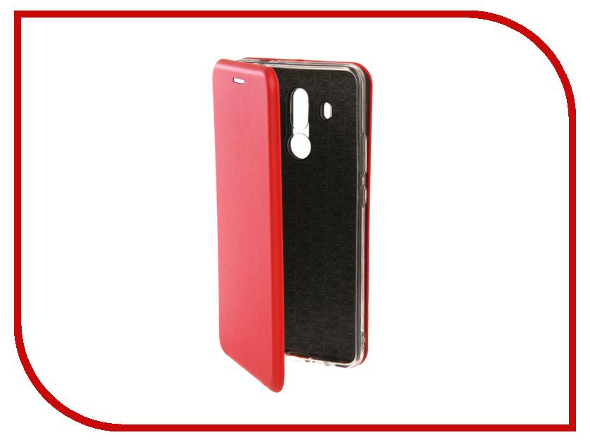 Аксессуар Чехол для Huawei Mate 10 Lite Innovation Book Silicone Red 12180