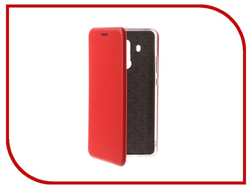 Аксессуар Чехол-книга для Huawei Mate 10 Pro Innovation Book Silicone Red 12172
