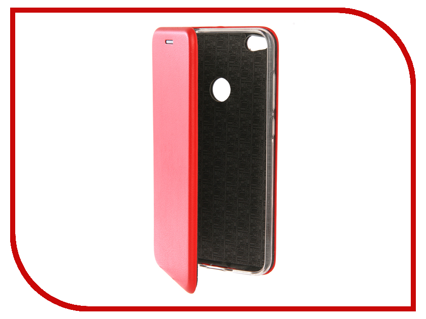 Аксессуар Чехол для Huawei P8 Lite Innovation Book Silicone Red 12174 аксессуар чехол книга для huawei p9 lite innovation book silicone gold 11510