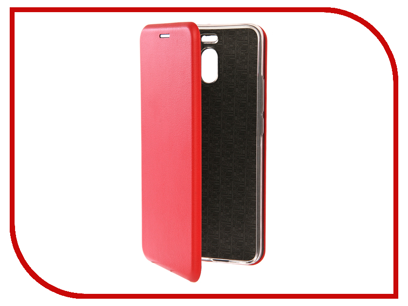 Аксессуар Чехол для Meizu M6 Note Innovation Book Silicone Red 12169 аксессуар чехол для samsung galaxy a5 2017 innovation book silicone red 12147
