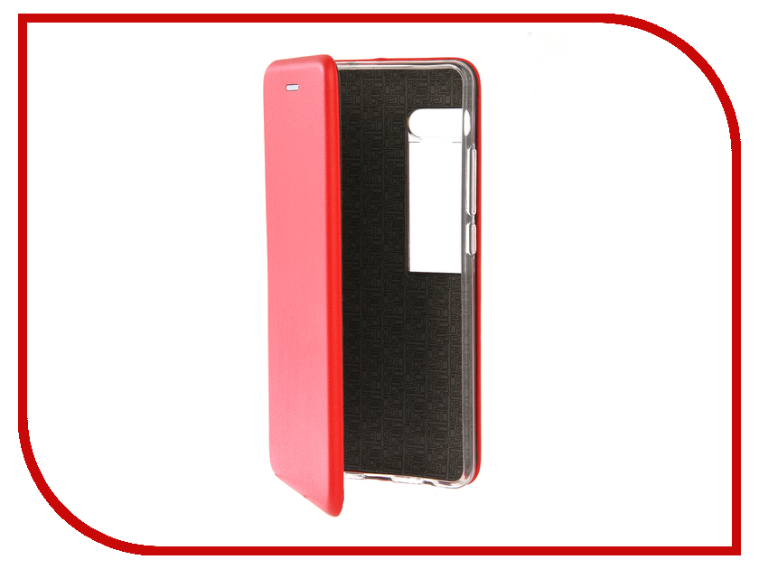 Аксессуар Чехол для Meizu Pro 7 Note Innovation Book Silicone Red 12181