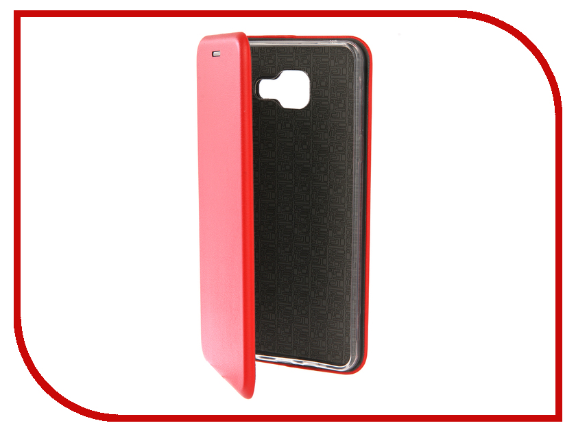 Аксессуар Чехол для Samsung Galaxy A5 2016 Innovation Book Silicone Red 12146 аксессуар чехол для samsung galaxy a5 2017 innovation book silicone red 12147