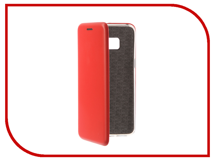 Аксессуар Чехол-книга для Samsung Galaxy S8 Innovation Book Silicone Red 12165 аксессуар чехол для samsung galaxy a5 2017 innovation silicone coral 10646