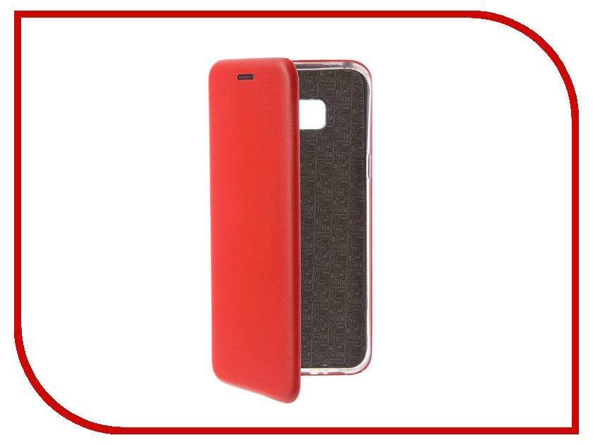 Аксессуар Чехол-книга для Samsung Galaxy S8 Plus Innovation Book Silicone Red 12166 аксессуар чехол книга для samsung galaxy s6 edge innovation book silicone red 12162
