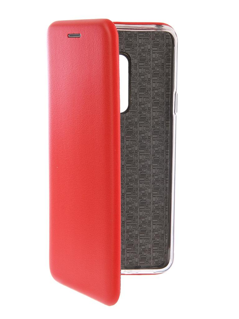 Аксессуар Чехол-книга Innovation Book Silicone для Samsung Galaxy S9 Plus Red 12159 аксессуар чехол книга для samsung galaxy s8 innovation book silicone red 12165 page 7