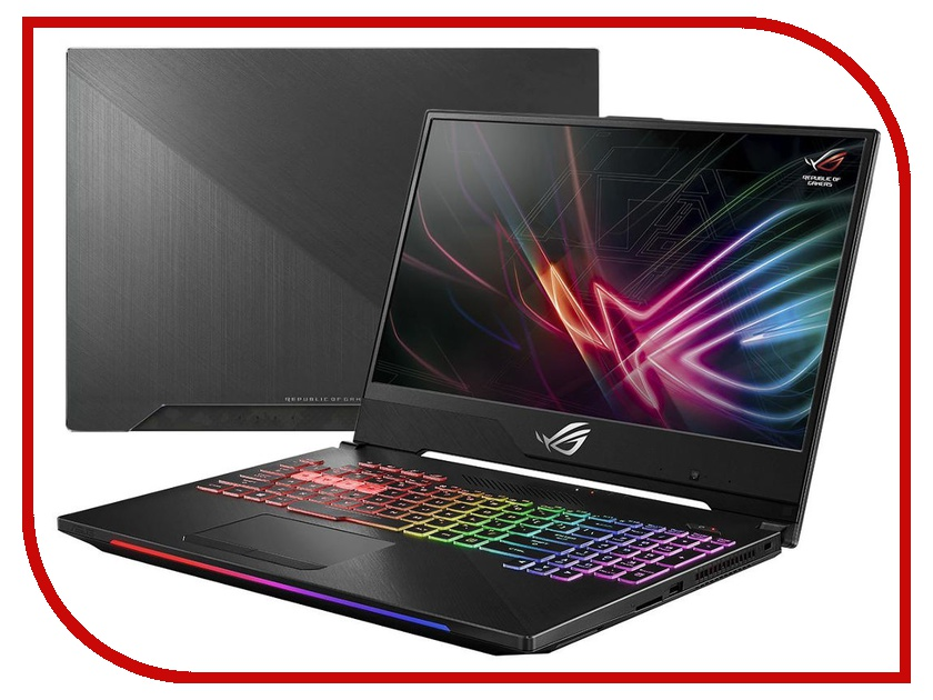 Ноутбук ASUS ROG GL504GM 90NR00K2-M04980 Black (Intel Core i5-8300H 2.3 GHz/16384Mb/1000Gb + 256Gb SSD/No ODD/nVidia GeForce GTX 1060 6144Mb/Wi-Fi/Cam/15.6/1920x1080/Windows 10 64-bit) ноутбук asus rog fx502vm 90nb0dr5 m01960 intel core i7 6700hq 2 6 ghz 8192mb 1000gb 256gb ssd no odd nvidia geforce gtx 1060 3072mb wi fi cam 15 6 1920x1080 windows 10 64 bit