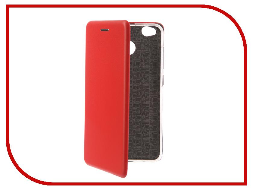 Аксессуар Чехол-книга для Xiaomi Redmi 4X Innovation Book Silicone Red 12161 аксессуар чехол для samsung galaxy a5 2017 innovation book silicone red 12147