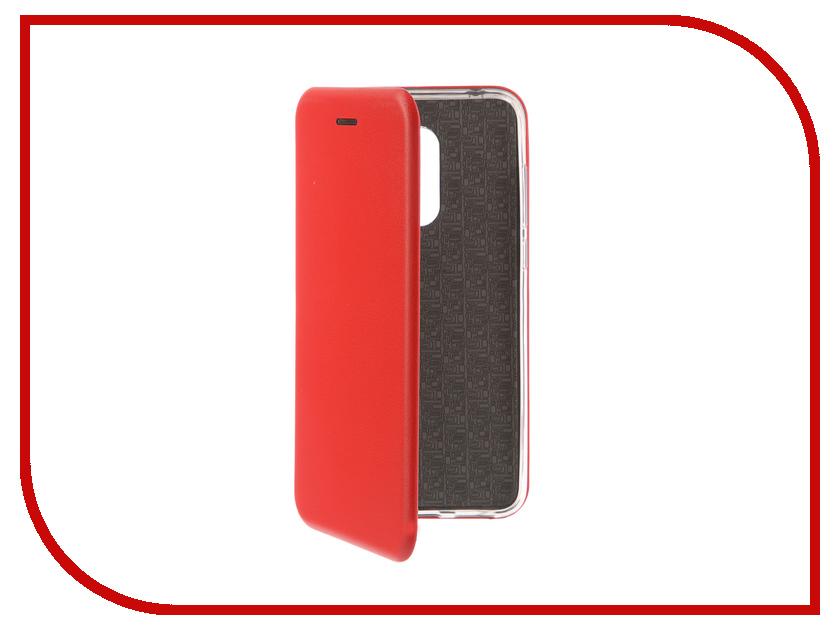 Аксессуар Чехол-книга для Xiaomi Redmi 5 Plus / Redmi Note 5 Innovation Book Silicone Red 12177 аксессуар чехол для xiaomi redmi note 5а prime innovation book pink gold 11947
