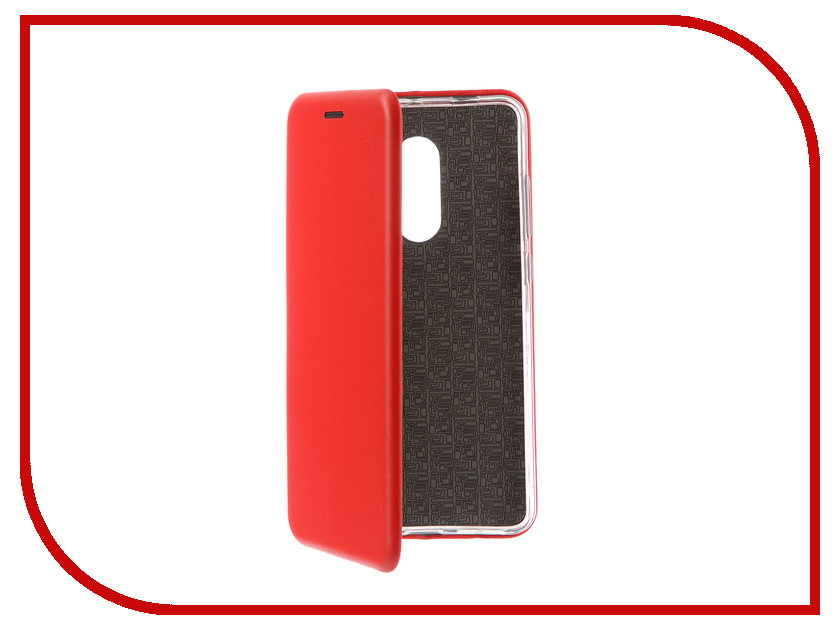 Аксессуар Чехол для Xiaomi Redmi Note 4X Innovation Book Silicone Red 12160 аксессуар чехол для xiaomi redmi note 4 gecko book red g book xiam n4 red
