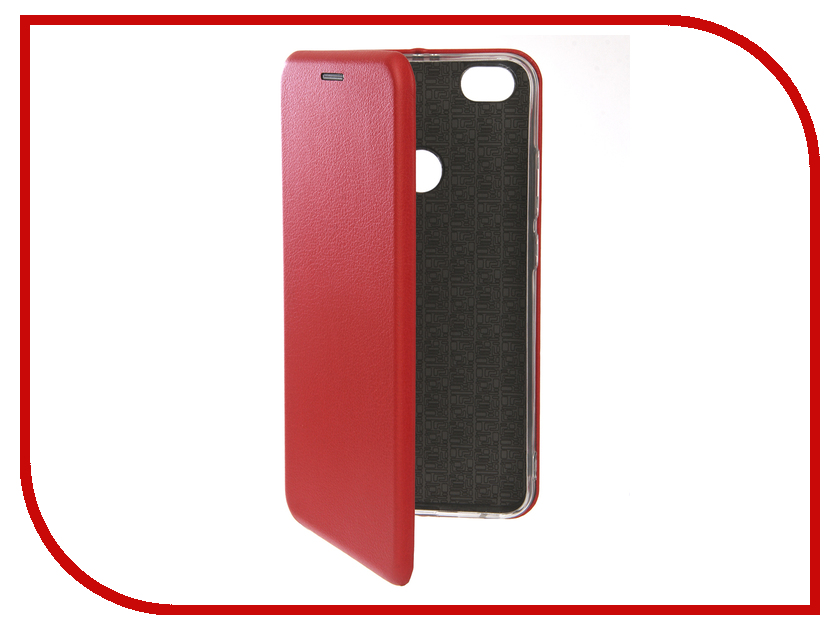Аксессуар Чехол для Xiaomi Redmi Note 5A Innovation Book Silicone Red 12173 аксессуар чехол для xiaomi redmi note 4 gecko book red g book xiam n4 red