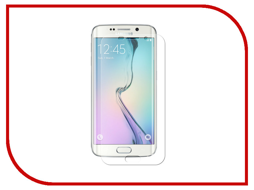 Аксессуар Защитная пленка для Samsung Galaxy S6 EDGE Plus Innovation Silicone Transparent 12101