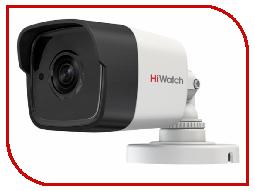 Аналоговая камера HiWatch DS-T500P 6mm аналоговая камера hiwatch ds t201 3 6mm