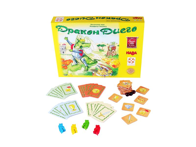 Настольная игра Стиль жизни Дракон Диего цена