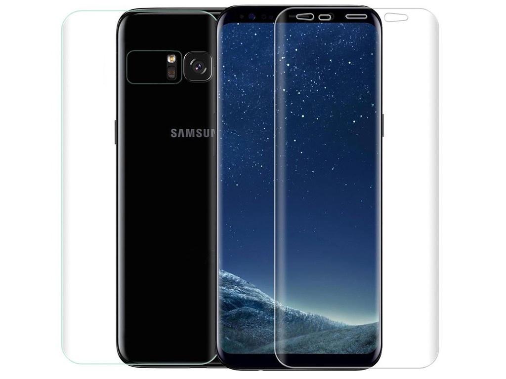 Аксессуар Защитная пленка Innovation для Samsung Galaxy S8 Plus Front&Back Silicone Transparent 12093 пленка на экран samsung et fg950ctegru для galaxy s8