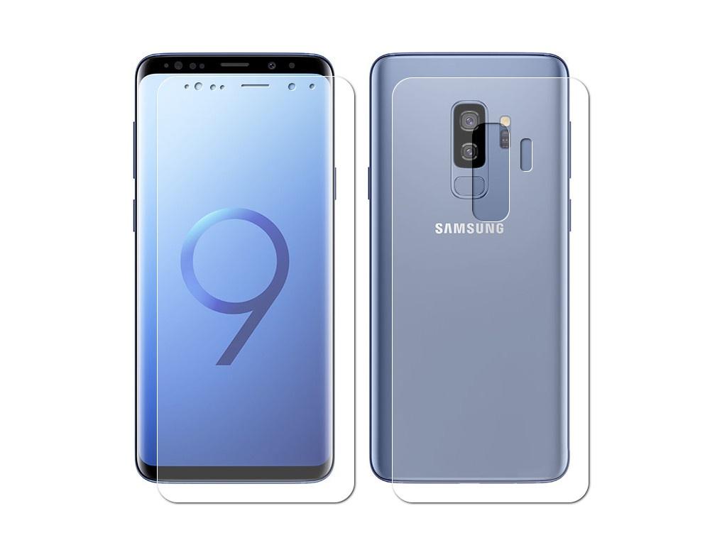 Аксессуар Защитная пленка Innovation для Samsung Galaxy S9 Plus Front&Back Silicone Transparent 12067 бронницкий ювелир кольцо из красного золота д0268 017060 размер 17