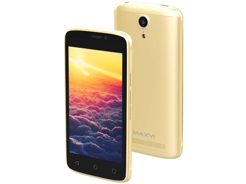 Сотовый телефон Maxvi MS401 Sunrise Gold