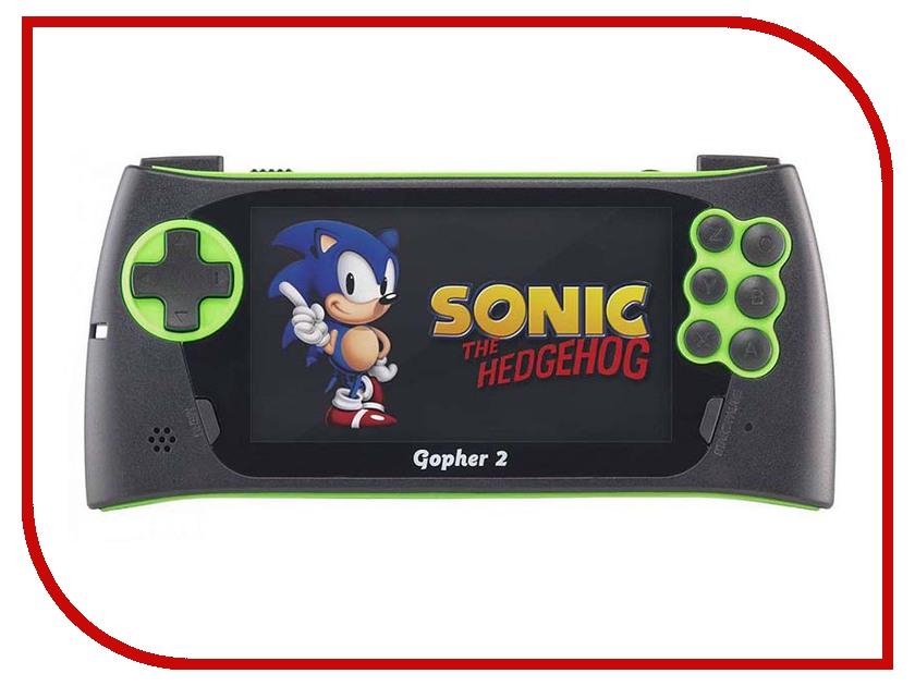 Игровая приставка SEGA Genesis Gopher 2 LCD 4.3 Green + 700 игр игровая приставка sega magistr drive 2 9 игр