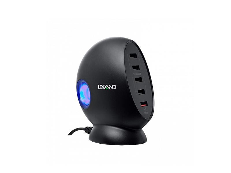 Зарядное устройство Lexand LP-5Q 5xUSB Black