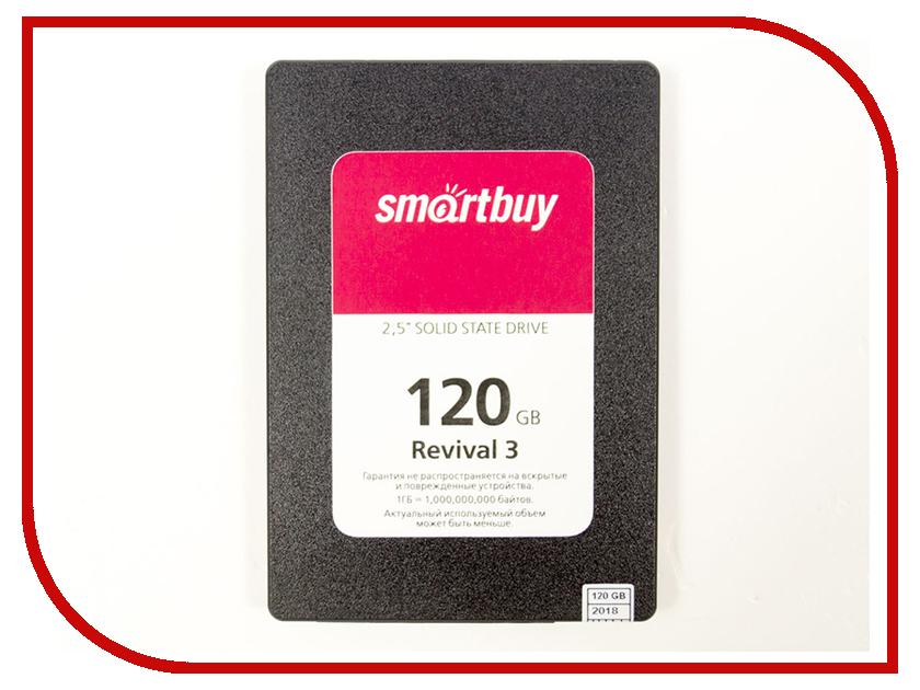 Жесткий диск SmartBuy Revival 3 120 GB (SB120GB-RVVL3-25SAT3) ssd накопитель smartbuy revival 3 sb120gb rvvl3 25sat3 120gb sata iii 2 5