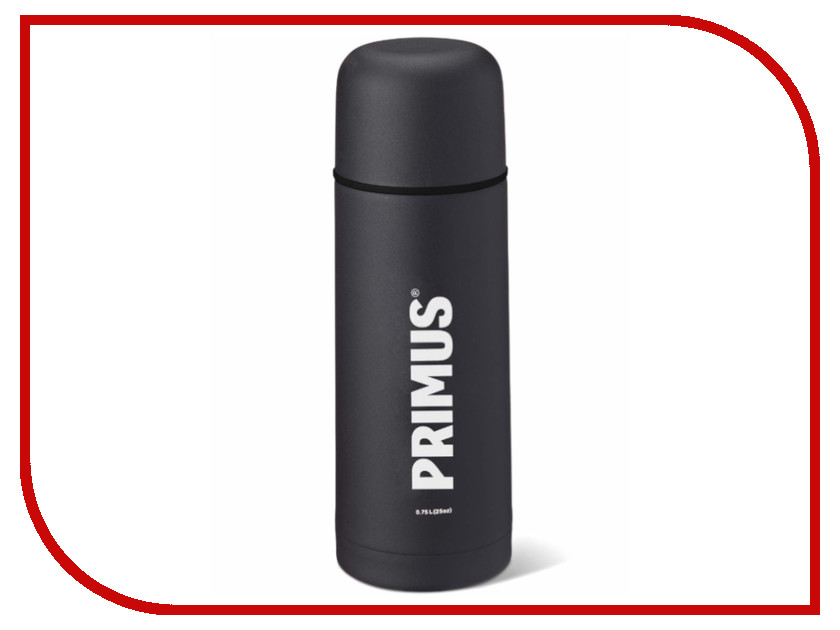 Термос Primus Vacuum Bottle 750ml Black 741056