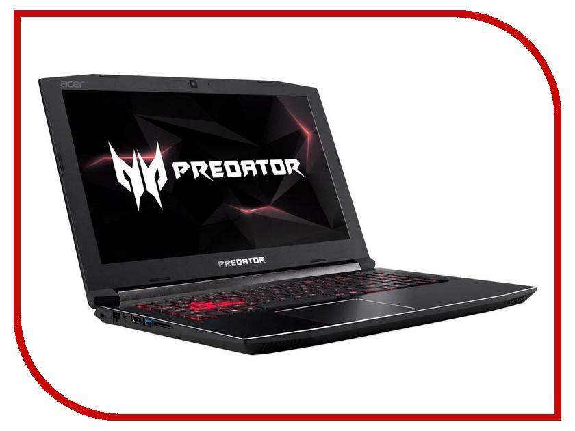 Ноутбук Acer Predator Helios 300 PH315-51-70YJ Black NH.Q3FER.006 (Intel Core i7-8750H 2.2 GHz/16384Mb/1000Gb+256Gb SSD/nVidia GeForce GTX 1060 6144Mb/Wi-Fi/Bluetooth/Cam/15.6/1920x1080/Windows 10 Home 64-bit) ноутбук acer predator helios 300 ph315 51 7441 black nh q3fer 001 intel core i7 8750h 2 2 ghz 16384mb 1000gb 128gb ssd nvidia geforce gtx 1060 6144mb wi fi bluetooth cam 15 6 1920x1080 windows 10 home 64 bit