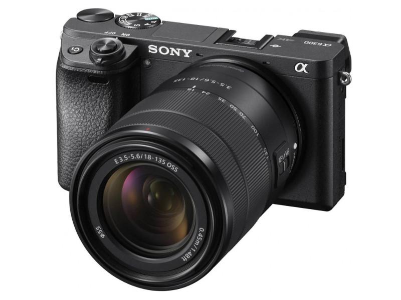 цена на Фотоаппарат Sony Alpha ILCE-6300M Kit 18-135 mm Black