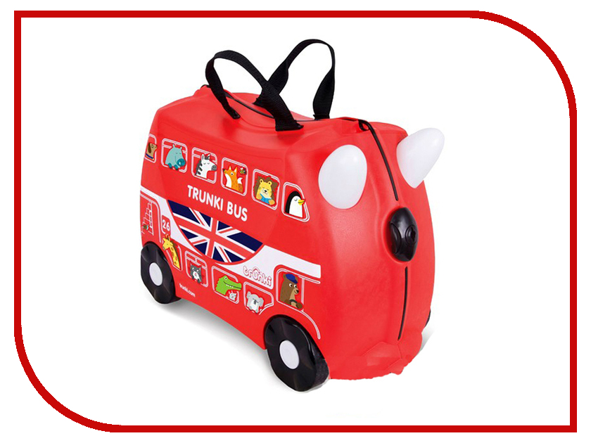 Чемодан Trunki Автобус 46x20.5x31cm 0186-GB01-P4 trunki подголовник yondi mylo оранжевый