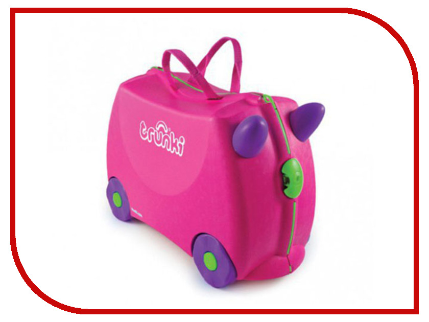 Чемодан Trunki 31x46x20.5cm 18L Pink 0061-GB01-P1